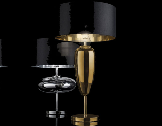 lampada da tavolo Zafferano show